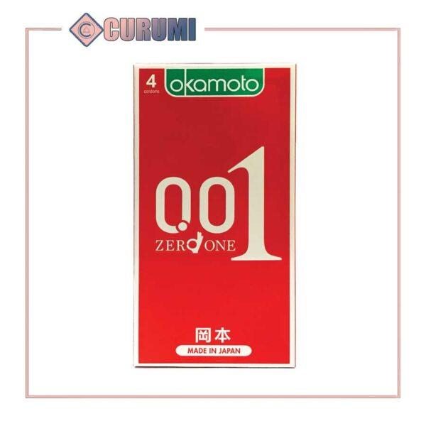 Bao cao su Okamoto ở Vinh - Zero One 0.01 - Hộp 4