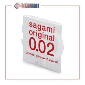 bao cao su Sagami 002 vinh- Hộp 1 chiếc