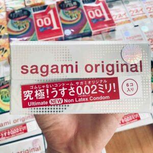 Bao cao su siêu mỏng Sagami