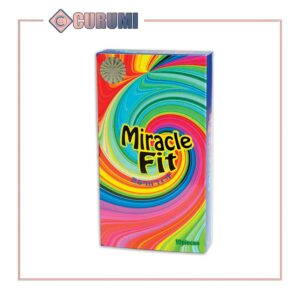 Bao cao su Sagami 3D Miracle Fit - Hộp 10 chiếc