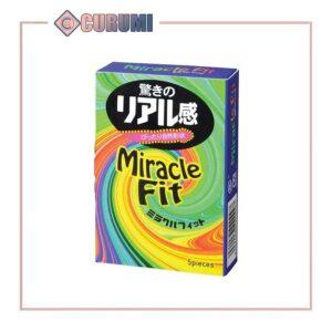 Bao cao su 3D Vinh - Sagami Miracle Fit - Hộp 5