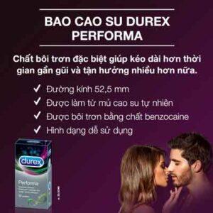 Các loại Durex và công dụng